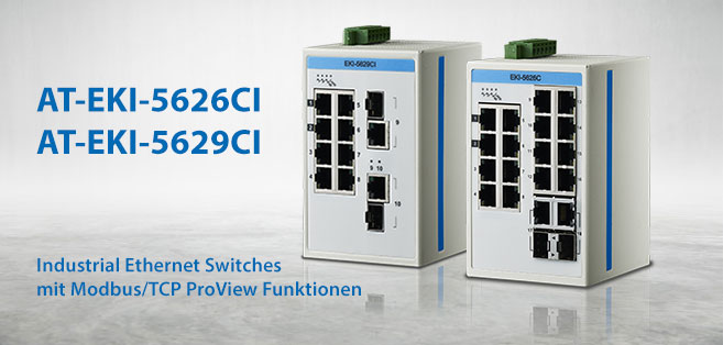 Industrial Ethernet Switch mit ProView Funktionen