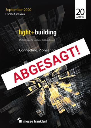 Light + Building abgesagt