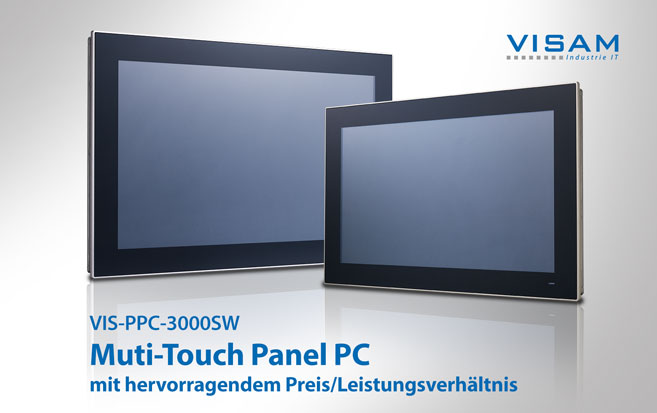 Panel PC mit Multi-Touch