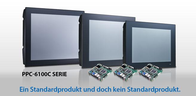 Kundenspezifische Panel Computer mit der PPC-6100C Serie