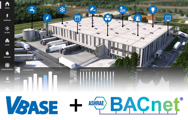 VBASE with support for the BACnet protocol.