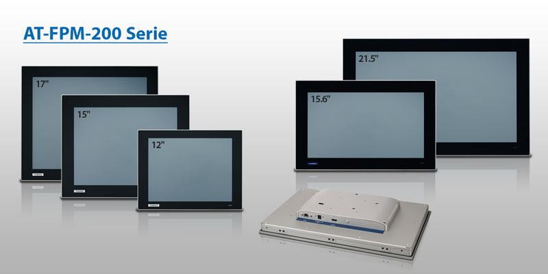 FPM-200 - next Generation industrial monitors