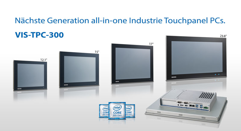 TPC-300. All-in-One TPC Industrie Panel PC